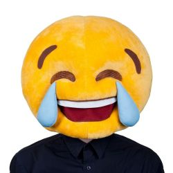 Emoji Cry Laughing Mask (MH1287)